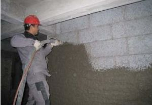 High Efficiency Plaster and Paint Concrete Machine for Wall