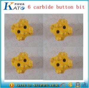 6 Carbide Buttons 42mm Button Bit pictures & photos
