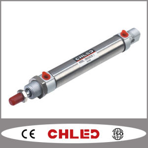 ISO6432 Stainless Steel Mini Pneumatic Cylinder Dsnu Series pictures & photos