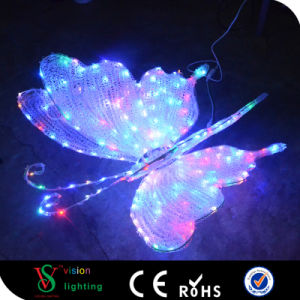 Christmas Decoration 3D Butterfly Lights pictures & photos