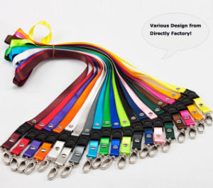Printed Polyester Neck Key/Card Holder Lanyard pictures & photos
