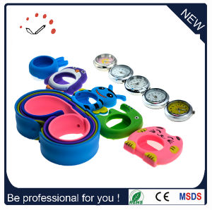 Promotional Mini Analog Students Slap Watch with Animal Case on Watches (DC-089) pictures & photos
