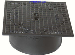 Cast Ductile Iron Drainage Manhole Cover (BC. D-A44) pictures & photos