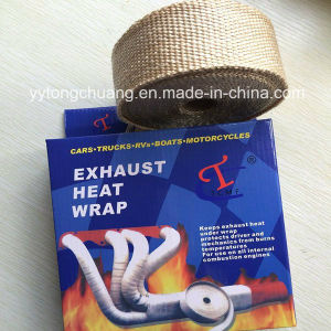 Colorful Fiberglass Exhaust Header Turbo Heat Wrap pictures & photos