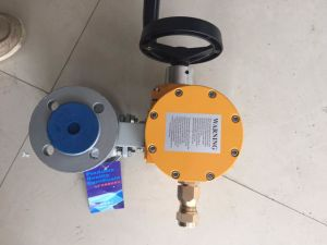 Electric Plastic Ball Valve for Corrosive Medium pictures & photos