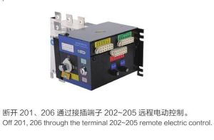 Remote Isolating Type Automatic Transfer Switch (GLD-1250/4) pictures & photos