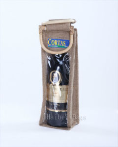 Jute Wine Bag (hbjw-9) pictures & photos