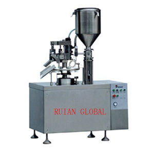 Semi Automatic Tube Fill and Seal Machine for Toothpaste Cream pictures & photos