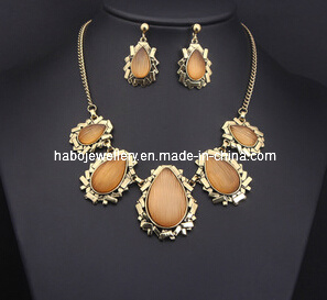 Square Stone Jewelry Set (XJW13214) pictures & photos