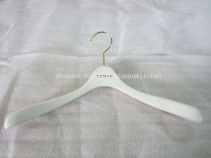 White Wooden Top Hanger Yd-0013-01