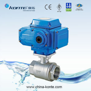 Electric Thread 2PC Ball Valve CF8 CF8m pictures & photos