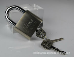 50mm Nickel Plated Blade Iron Padlock (550) pictures & photos