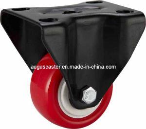 Light Duty-03 Series Red PU Caster