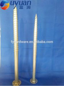Ce Certification for Galvanized Helical Ground Mounting Screw Piles pictures & photos