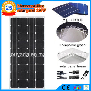 150W Monocrystalline Solar Panel pictures & photos
