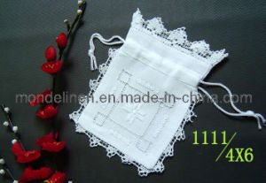 Handmade Gift Bag with Lace Border (LB-011)