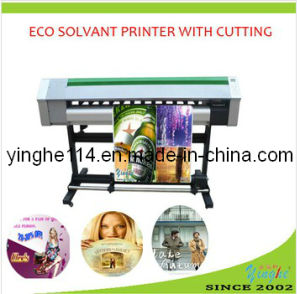 1.6m Digital Printing Machine with Cutting Function Eco Solvent Printer (YH-1600S) pictures & photos