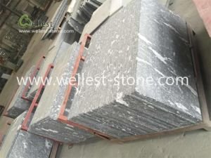 Snow Grey Granite Exterior Wall Cladding Tile pictures & photos