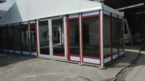 10m Span Aluminum Double Skin Tent with Glass Wall pictures & photos