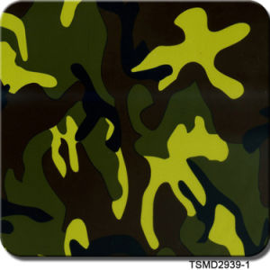Kingtop 1m Width Camouflage Design Water Transfer Printing Film Tsmc32-4 pictures & photos