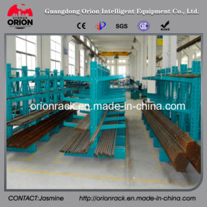 Warehouse Rolling Steel Cantilever Shelf Rack pictures & photos