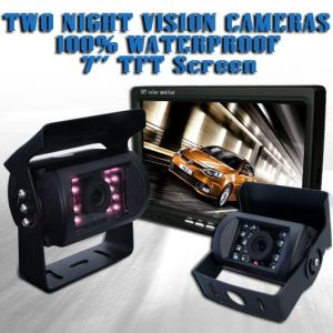 12V-24V Car Reversing Camera Kit with Monitor pictures & photos