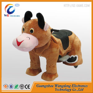 Coin Operated Walking Animal Ride on Toy for Shopping Mall pictures & photos