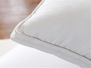White Duck Feather Cotton Proof Oblong Pillow pictures & photos