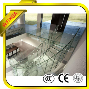 China Manufacture Laminated Glass for Stair Railing with CE Certificate pictures & photos