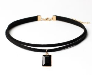 Gothic Minimalist Chocker Necklace Fashion Jewelry pictures & photos