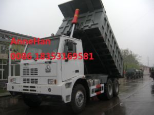 Sinotruk 70 Tons off Road Mining Dump Truck 6 by 4 Driving Model 371HP pictures & photos