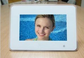 7 Inch Single Function with High Resolution Digital Picture Frame