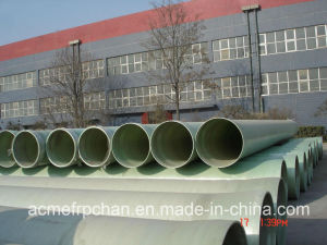 GRP Sewage Pipe (High Quality FRP Pipe)