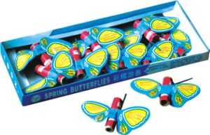 Spring Butterfly (small) of Toys Firewors for Children (W526B)