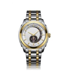 Men′s Stainless Steel Mechanical Watch at 50meters Water Resistance, Eta Movement pictures & photos