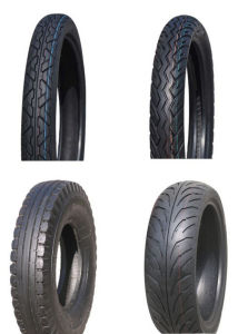 Motorcycle Tubeless Tire 3.50-18 pictures & photos