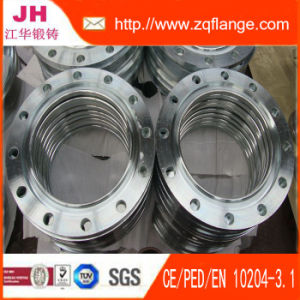 Carbon Steel Socket Welding Flange with PED pictures & photos