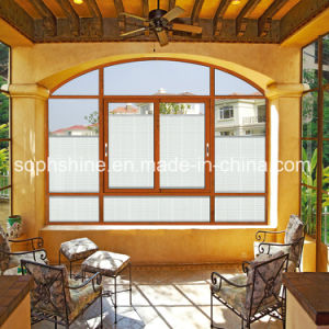 New Window Curtain with Built in Blind Motorized Between Double Hollow Glass pictures & photos