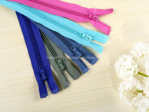 No. 5 Nylon Zipper O/E, a/L (GY-1001) pictures & photos