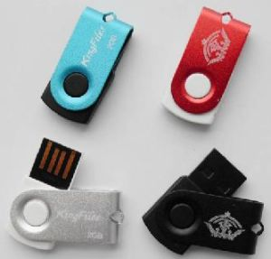 Mini Swivel USB Flash Drives with Custom Logo pictures & photos