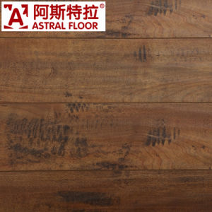 Hot Sale AC3 AC4 Silk Surface Wooden Flooring Laminate Flooring (AL1710) pictures & photos