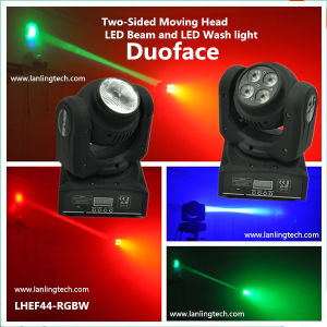 44W RGBW Duoface Moving-Head Spot LED Light pictures & photos