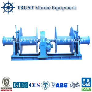 Supply High Quality Marine DC Boat Hydraulic Winch pictures & photos