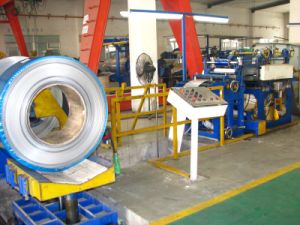 (0.4-2) X600 China Hydraulic Narrow Metal Plate Slitting Machine pictures & photos