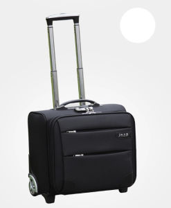 Black Color Trolley Luggage Bag for Business (ST6237E) pictures & photos