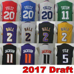 Draft Basketball Jersey 2017 Red Black Yellow White Blue Green Purple Orange Men Women Youth Sports Wear Vest Stitched