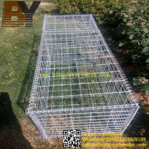 Stone Cage Welded or Hexagonal Wire Netting Gabion Basket pictures & photos