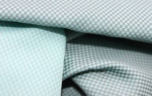 Polyester Fabric with Horseshoe Pattern for Garment