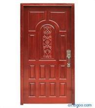 Solid Wooden Fire Door with Britain Certified pictures & photos