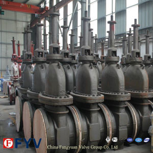 API 6D Gas Wcb Flat Gate Valve with Gear pictures & photos